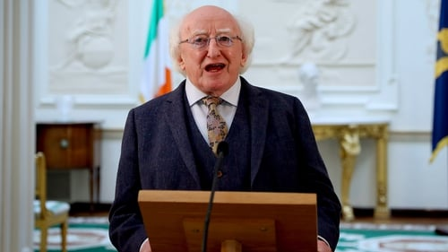 President Higgins said situation was 'less than ideal' (file image: RollingNews.ie)