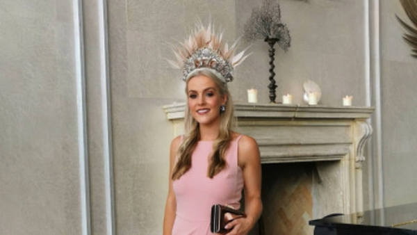 Hayley Coleman was crowned Her Best Dressed Winner 2021 at the Galway Races.