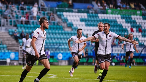 Dundalk will now face Dutch side Vitesse in the next round after Patching's 92nd minute strike