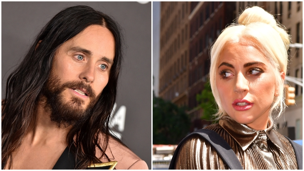 Jared Leto and Lady Gaga