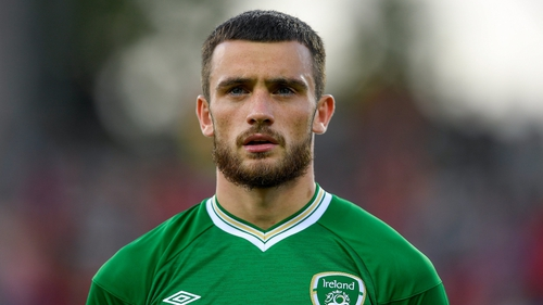 Parrott last featured for Ireland against Hungary in June