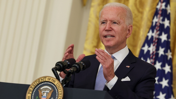 'Please exercise responsible judgment. Get vaccinated for yourself, the people you love, for your country.' Joe Biden said