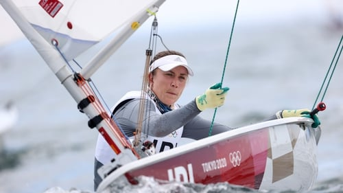 Annalise Murphy was unable to force her way into the top 10