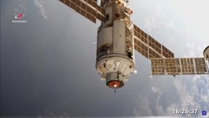 Russia's Nauka Multipurpose Laboratory Module docks with the International Space Station