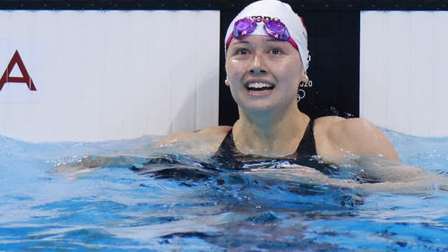 Hong Kong medallist Siobhan Haughey's father is a nephew of Charles Haughey