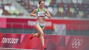Siofra Cleirigh Buttner ran 2:04.62 in her heat, which was won in a time of 2:01.42 by Raevyn Rogers of the United States