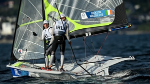 The Irish duo needed to bounce back from the disappointment of their disqualification from yesterday's two races