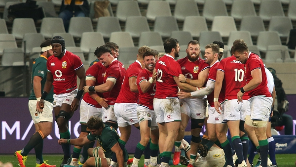 The Lions are on the verge of a first series in in South Africa since 1997