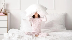 A sleep expert explains that poor sleep in older children is common and what parents can do to help.