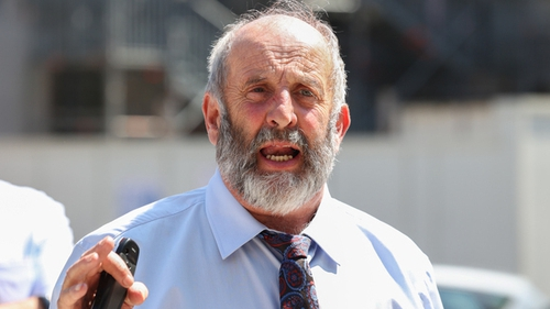 The video was reportedly filmed inside Danny Healy-Rae's pub