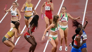You won't have to set an alarm to make sure you catch the Mixed 4x400m Relay final tomorrow