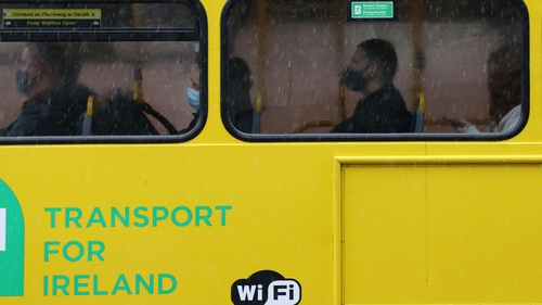 Public transport services returned to full capacity from the beginning of September