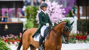 Sarah Ennis was the final Irish rider with Horseware Woodcourt Garrison