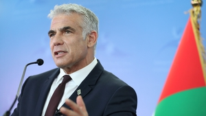 Israeli Foreign Minister Yair Lapid said Iran was 'an exporter of terrorism, destruction and instability'