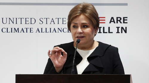 Patricia Espinosa said only just over half of countries that are party to the accord have submitted updated proposals
