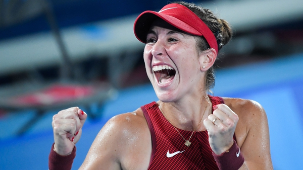 Bencic could have more to celebrate if Switzerland wins the doubles