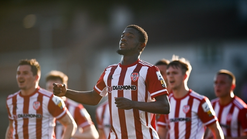 Derry City rise to sixth in the top division