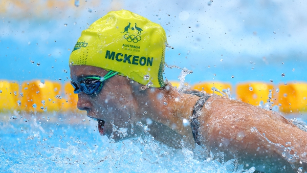 McKeon made history with a seventh medal in Tokyo