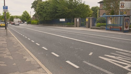 The crash happened on the Finglas Road in Glasnevin