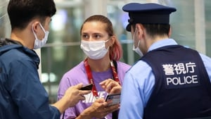 Krystsina Tsimanouskaya refused to board a flight back to Belarus