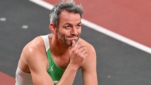 Thomas Barr finished fourth in his 400m hurdles semi-final