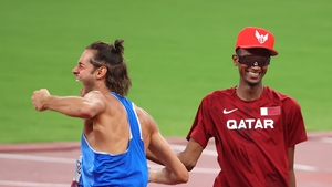 Gianmarco Tamberi and Mutaz Essa Barshim agreed to share the gold medal