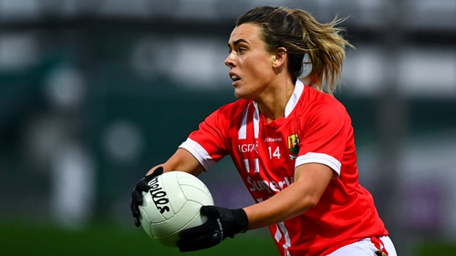 Doireann O'Sullivan came on to kick two late points