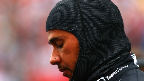 Hamilton: 'I kept telling them it's dry, dry, dry and they said to me 'stay out'. I don't understand it. We don't make it easy for ourselves. It's a mistake from us'