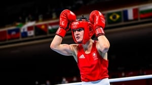 Kellie Harrington could guarantee a medal in her quarter final bout