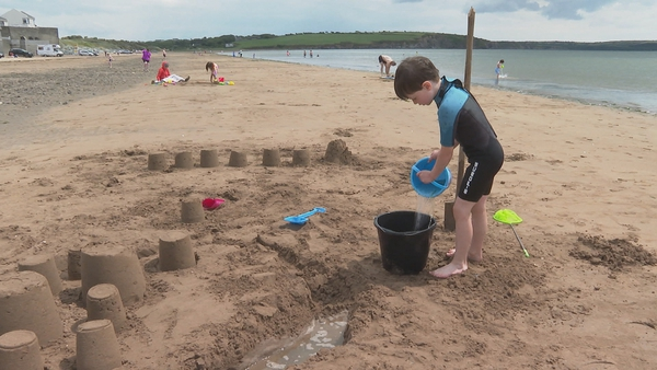 Duncannon beach lost its blue flag status in 2007