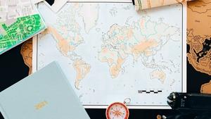 A solo, non-stop, around the world sailing bid