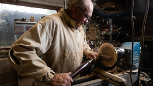 Woodturner John O'Shea is one of the participants in Cork Craft Month