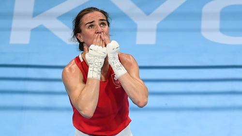 Kellie Harrington won gold on Sunday