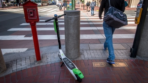 The issue of e-scooter footpath clutter is one that is currently hampering numerous cities and towns across the world