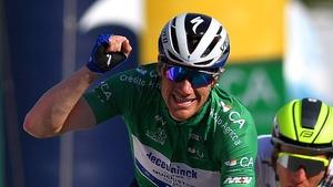 Former Tour de France green jersey winner Bennett is currently injured