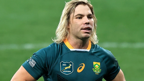 Faf de Klerk missed the third Lions Test in August with his initial hip injury