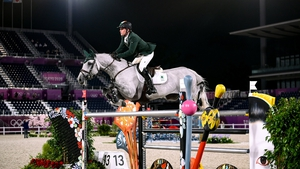 Darragh Kenny had a strong showing in the showjumping qualifier today ahead of the final