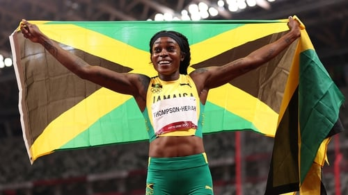 Elaine Thompson-Herah ran the second fastest 200m of all time
