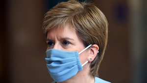 Nicola Sturgeon said new cases in Scotland have more than doubled in the past week
