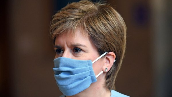Scottish First Minister Nicola Sturgeon announced the changes today