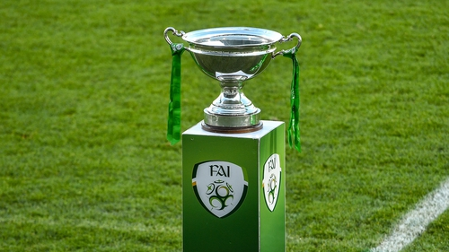 A view of the Women's FAI Cup