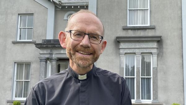 The Bishop of Killaloe Fintan Monahan in Ennis, Co Clare today