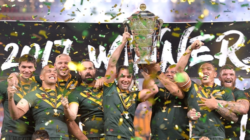 Australia won the 2017 Rugby League World Cup