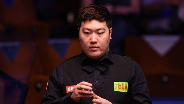 Bingtao had a 100% win record from his three matches