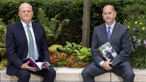 Colin Hunt, CEO and Donal Galvin, Executive Director, AIB