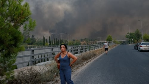 Greece is facing its most severe heatwave in 30 years