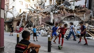 An Irish witness to the August 4th 2020 explosion in Beirut, which killed 214 people.