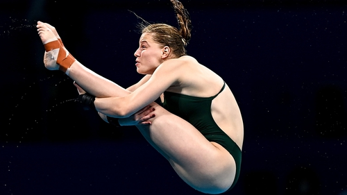 Tanya Watson held her nerve in the final two dives maintaining her 16th position