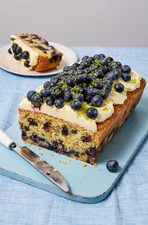Blueberry loaf cake