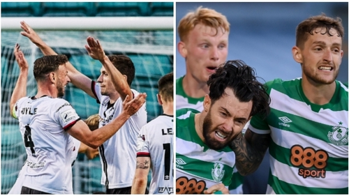 Dundalk and Shamrock Rovers have European first legs this evening